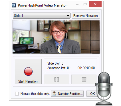 Record and Sync Audio & Video Narrations