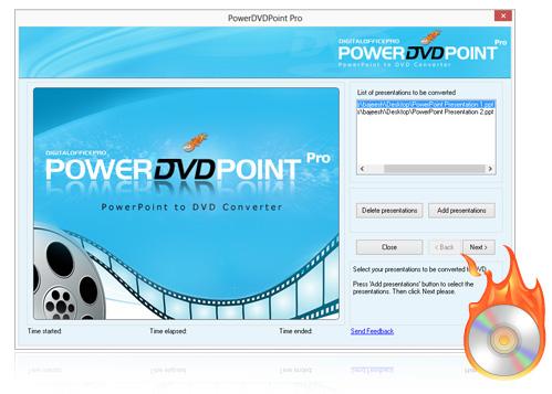 Convert to DVD