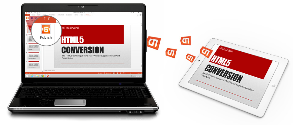 PowerPoint to HTML5 Conversion