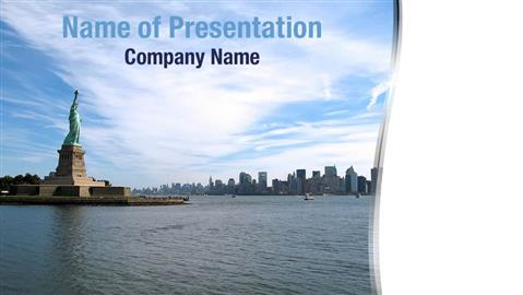 new york city PowerPoint Templates - PowerPoint Backgrounds ...