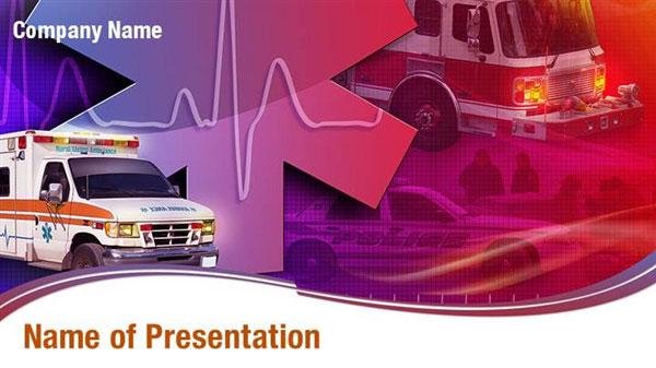 Medical Ambulance Powerpoint Templates Medical Ambulance
