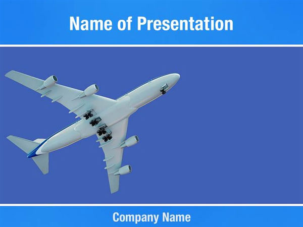 Aircraft Powerpoint Templates Aircraft Powerpoint