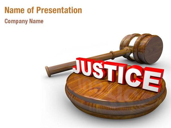 Public Justice Powerpoint Templates Public Justice