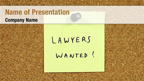 Lawyers Wanted
