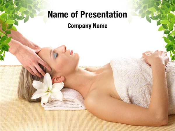 Spa Treatment Powerpoint Templates Spa Treatment