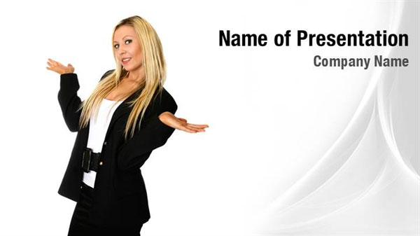 Business Woman Powerpoint Templates Business Woman