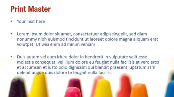 Color Crayons