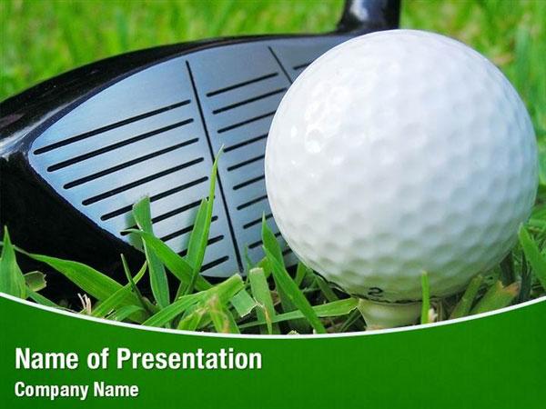 Golf Shot Powerpoint Templates Golf Shot Powerpoint