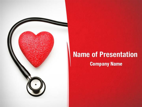 cardiac treatment powerpoint templates  cardiac treatment, Powerpoint