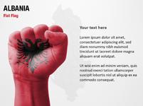 Albania Fist Flag