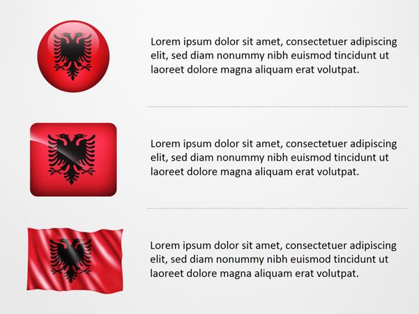 Albania Flag Icons