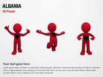 Albania 3D People