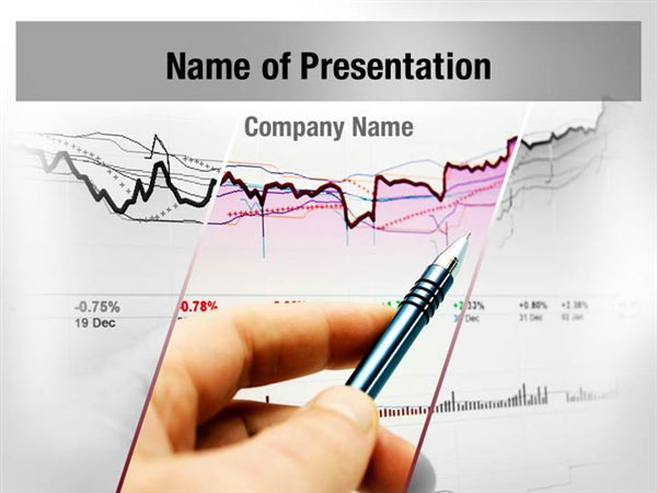 Stock market analysis powerpoint templates stock market for Stock market ppt templates free download