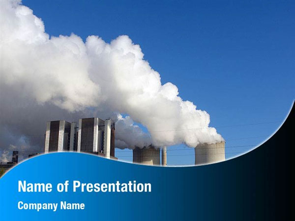Thermoelectric Power Station Powerpoint Templates Thermoelectric Power Station Powerpoint Backgrounds Templates For Powerpoint Presentation Templates Powerpoint Themes
