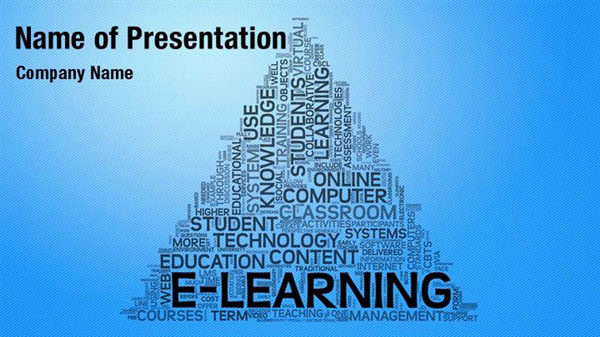 eLearning Word Cloud