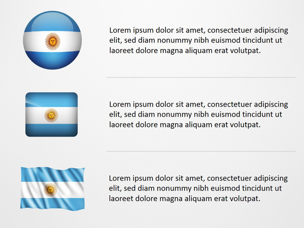 Argentina Flag Icons
