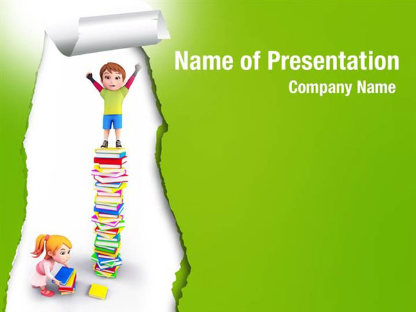 child learning powerpoint templates