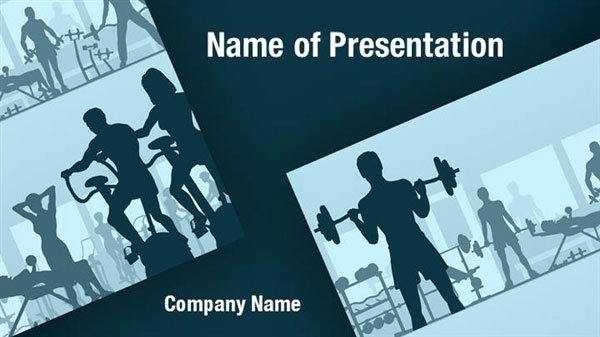 fitness club powerpoint templates fitness club