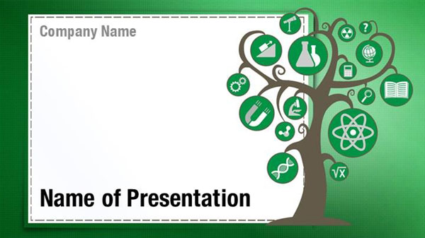 Education Tree Powerpoint Templates Education Tree