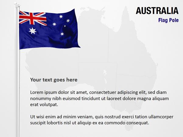 Australia Flag Pole