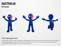 Australia 3D People