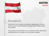Austria Flag Pole