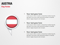 Austria Flag Pointer