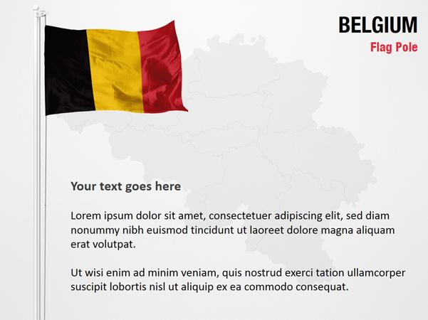 Belgium Flag Pole