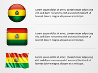 Bolivia Flag Icons