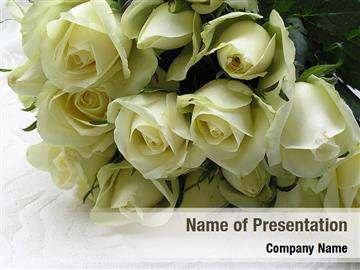 Tea Roses Wedding Bouquet