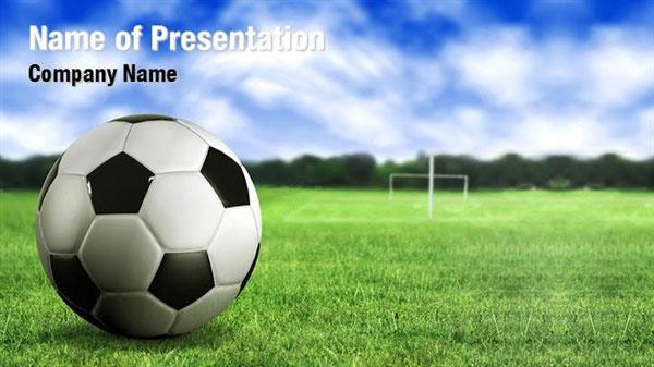 Football Ground Powerpoint Templates Football Ground