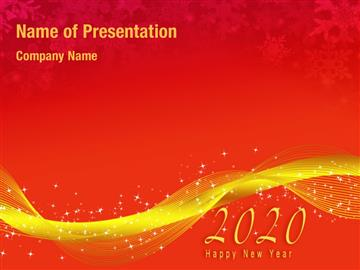 New Year Abstract Background