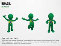 Brazil 3D People