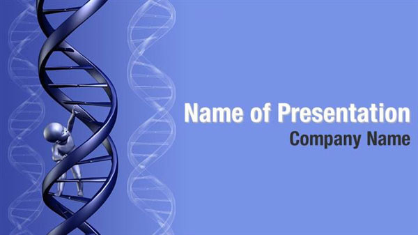 baby dna powerpoint templates