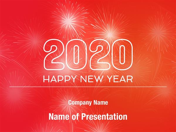 2020 New Year Powerpoint Templates 2020 New Year