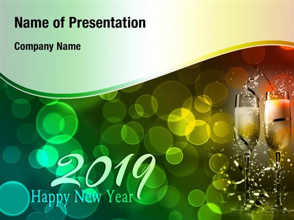 New Year Party 2019 Powerpoint Templates New Year Party