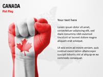 Canada Fist Flag