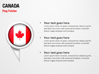 Canada Flag Pointer