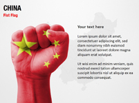 China Fist Flag