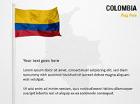 Colombia Flag Pole