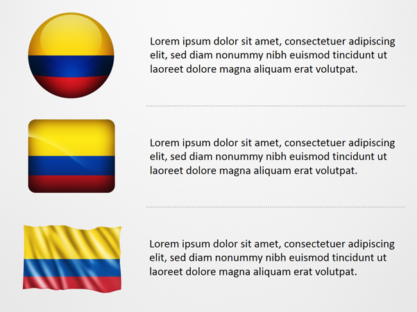 Colombia Flag Icons