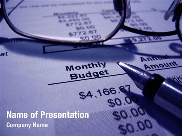 Personal Budget Planning