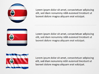 Costa Rica Flag Icons