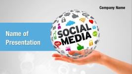 Social Media Marketing Powerpoint Templates Social Media