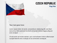 Czech Republic Flag Pole