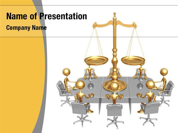 Court And Justice Powerpoint Templates Court And Justice