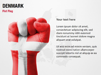 Denmark Fist Flag