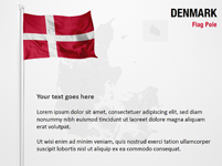Denmark Flag Pole