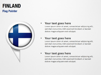 Finland Flag Pointer