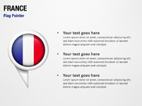 France Flag Pointer